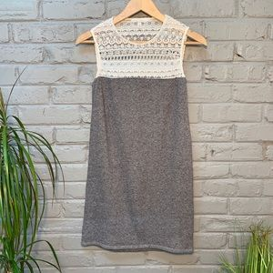 Victoria's Secret sleeveless dress with lace top